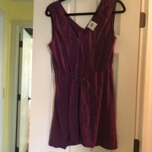 Anthropologie Purple Dress size medium